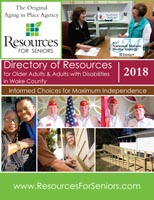 Cover of 2018 Directory of Resources for Older Adults