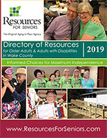 Cover of 2019 Directory of Resources for Older Adults